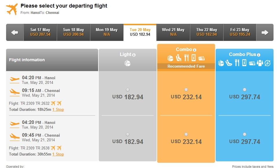 Vé máy bay giá rẻ đi Chennai