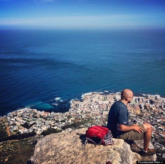 Chinh phục đỉnh núi Đầu Sư Tử ở Nam Phi
