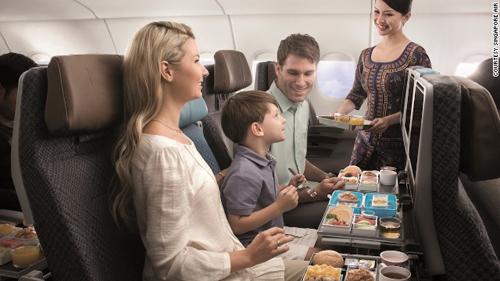 Kinh nghiệm đi máy bay khi có trẻ em