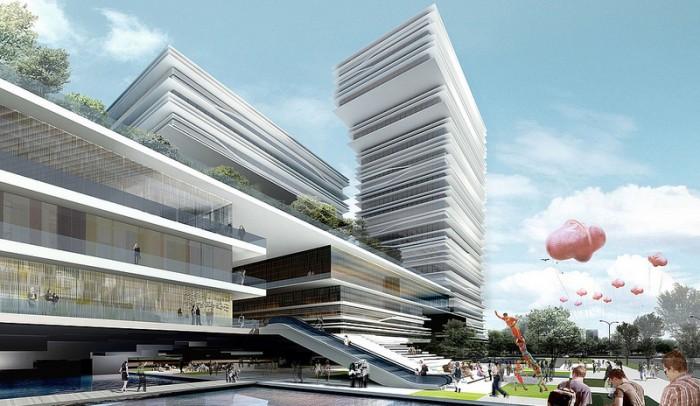 Chiêm ngưỡng trung tâm văn hóa tập đoàn nhật báo Quảng Châu