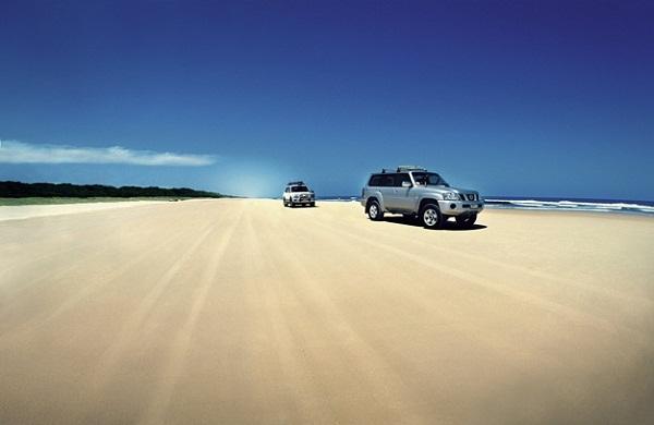 Fraser đảo cát lớn nhất thế giới tại Úc