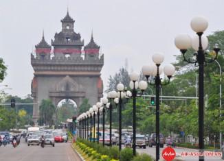 Thủ đô Vientiane - Lào