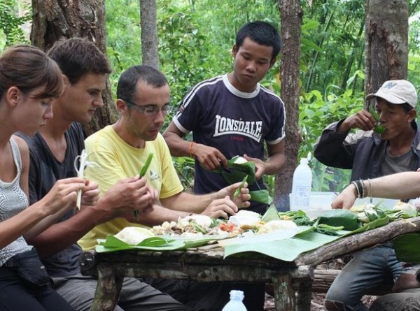 Thăm làng Khmu - trái tim của miền bắc nước Lào