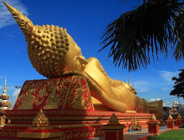 Thạt Luổng - ngôi chùa to đẹp nhất ở Lào