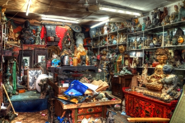 Chợ đồ cổ Thượng Hải