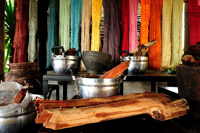 Pop Ock Tok - làng dệt truyền thống nổi tiếng ở Lào