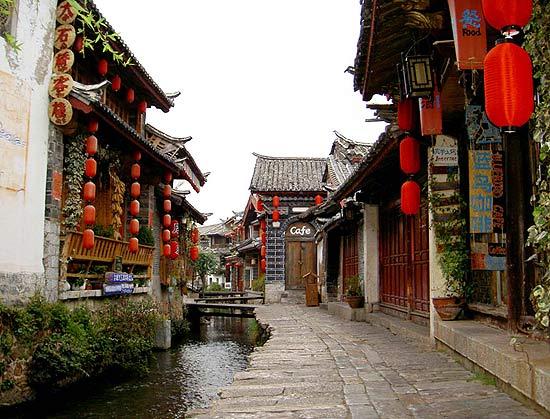thành cổ Lệ Giang Trung Quốc