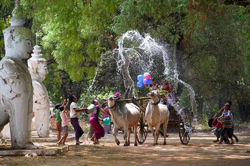 lễ hội mừng năm mới Thingyan