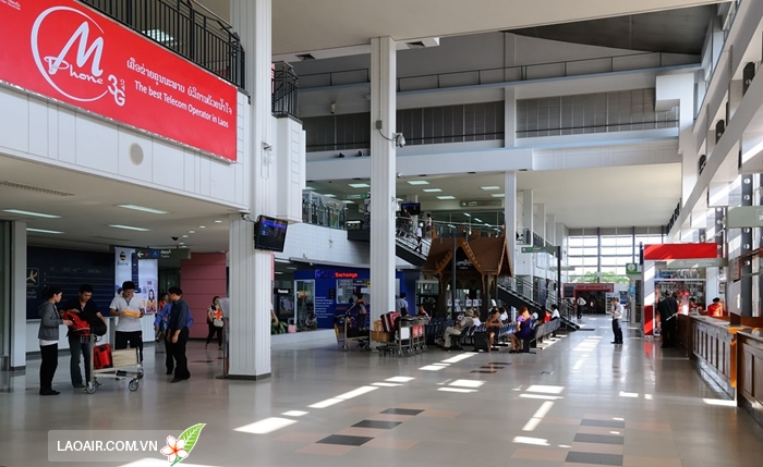 Sân bay quốc tế Wattay, Viêng Chăn